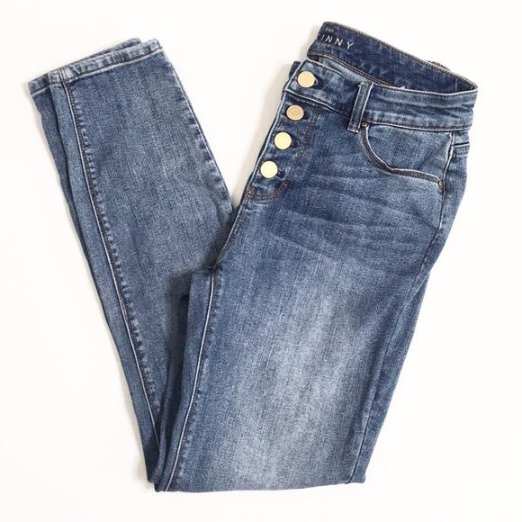 White House Black Market Denim - White House Black Market | The Skinny Ankle Jeans